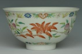 An Imperial Peach Bowl, Daoguang Mark and Period