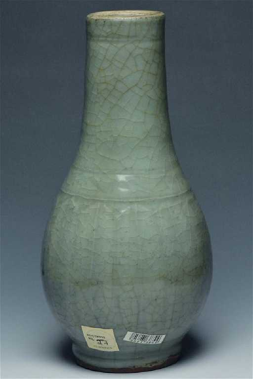 A Longquan Celadon Bottle Vase Ming Dynasty