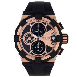 Concord Rose Gold C1 Sport Chronograph Automatic