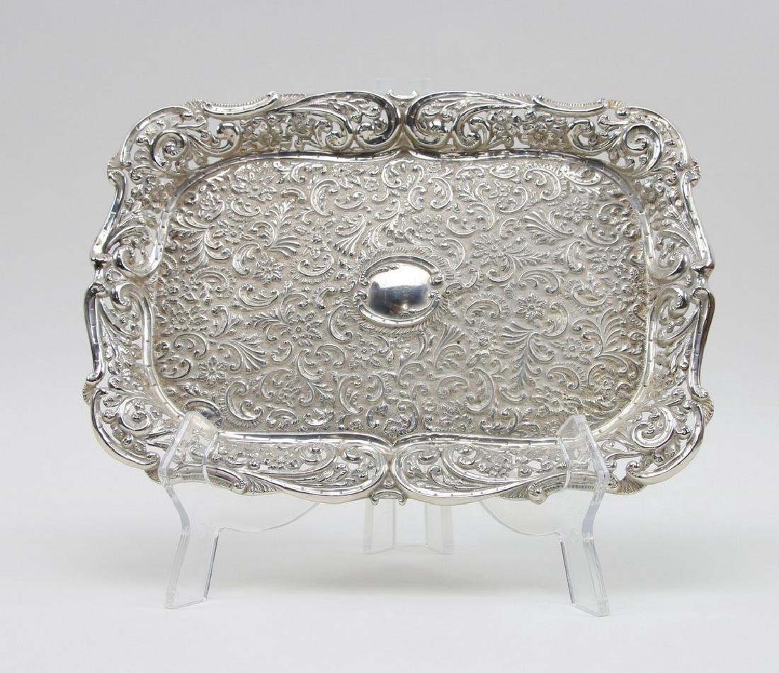 Sterling Silver Serving Tray Sterling Silver