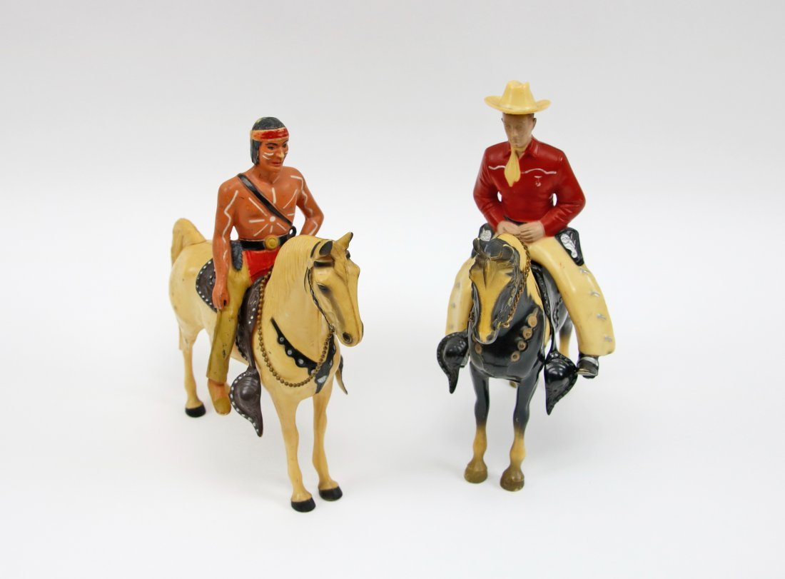 Vintage Cowboy and Indian Pair