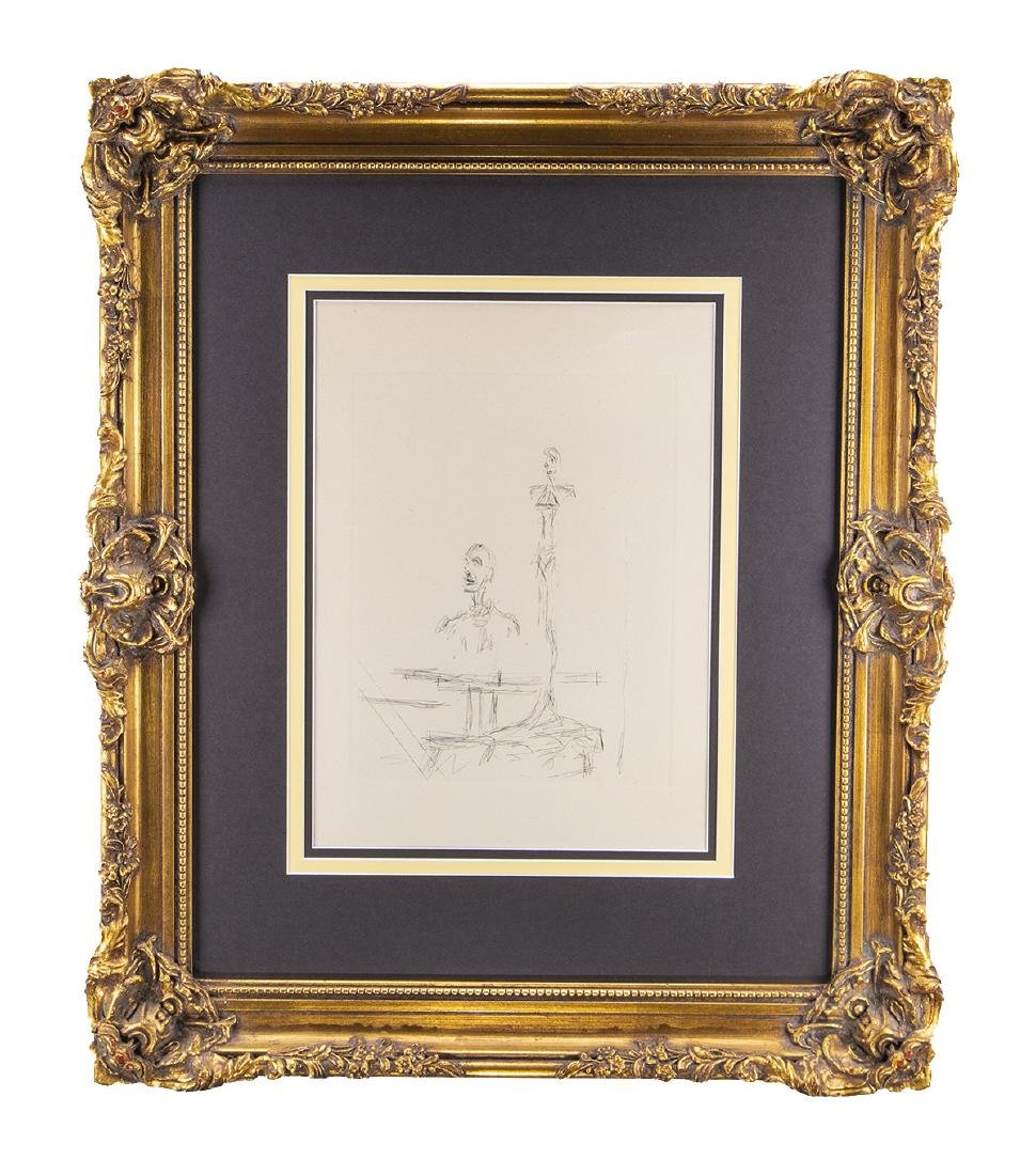 Alberto Giacometti (1901-1966) Etching