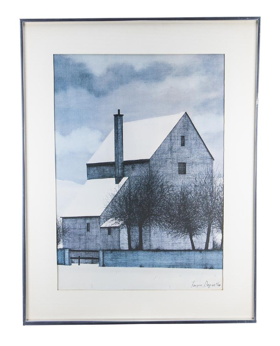 Jacques Deperths Lithograph (Signed)