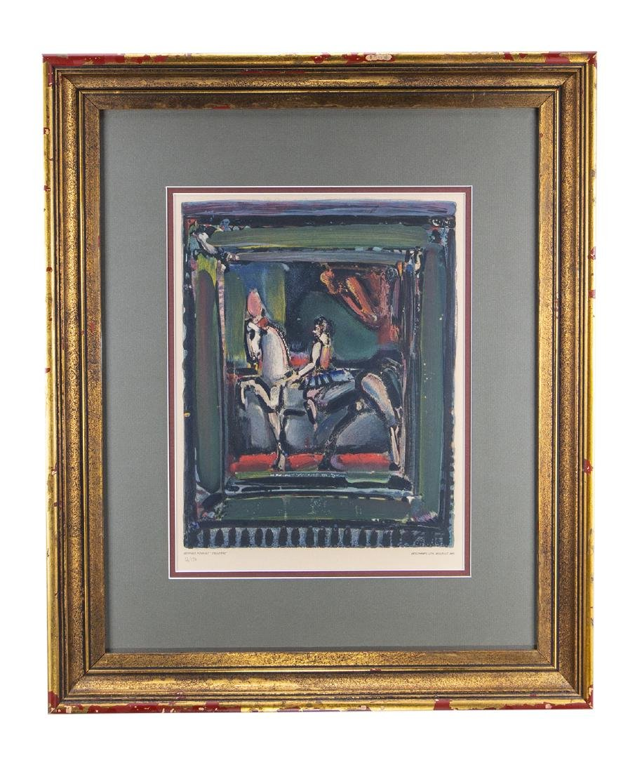 George Rouault Lithograph (Numbered 56 of 150)