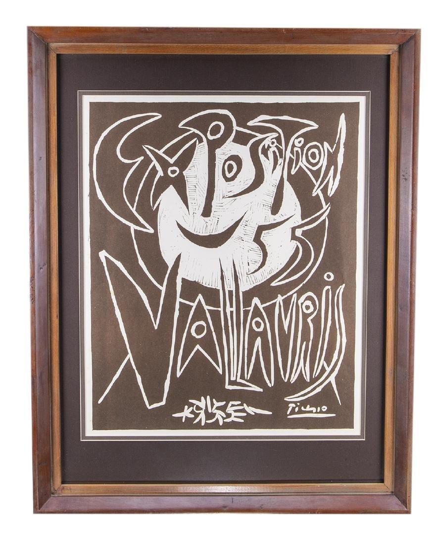 Pablo Picasso Print (Exposition Vallauris)