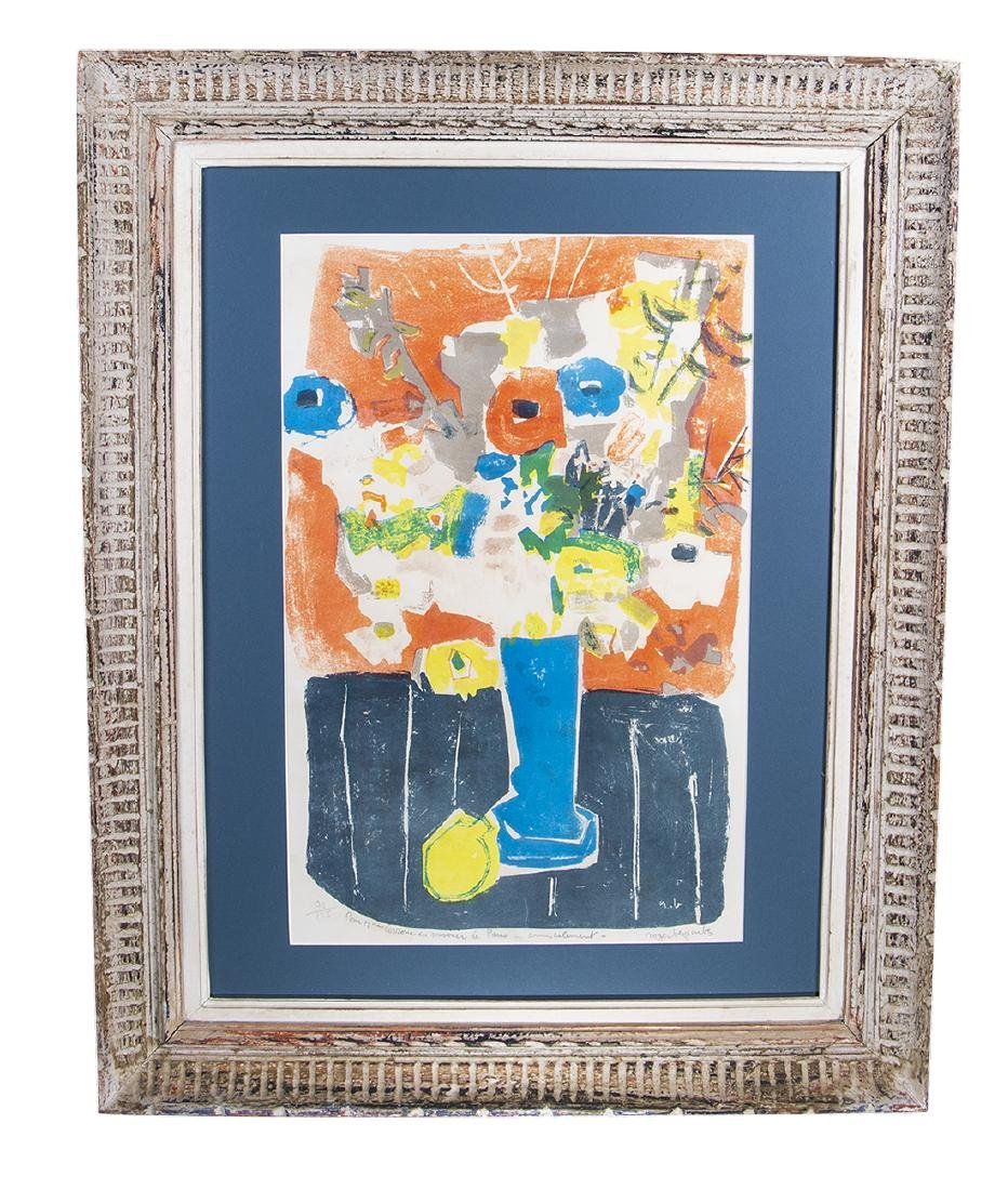 Roger Bezombes Lithograph Signed / Numbered (1913 -