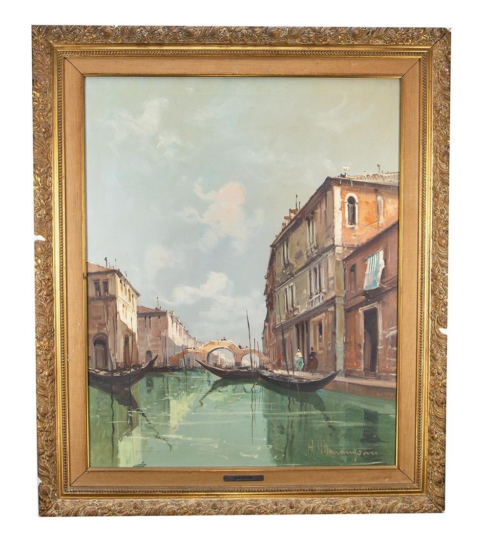 Aldo Marangoni Oil on Canvas (Signed)