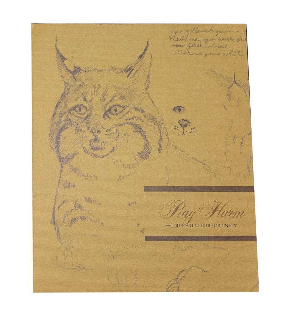 Ray Harm Wildlife Artist Print (Lazuli Bunting Signed) - 2