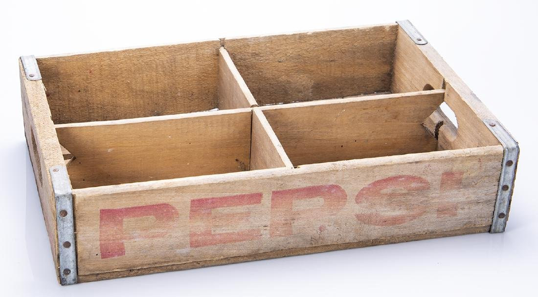 Pepsi Bottle Wooden Crate - 2