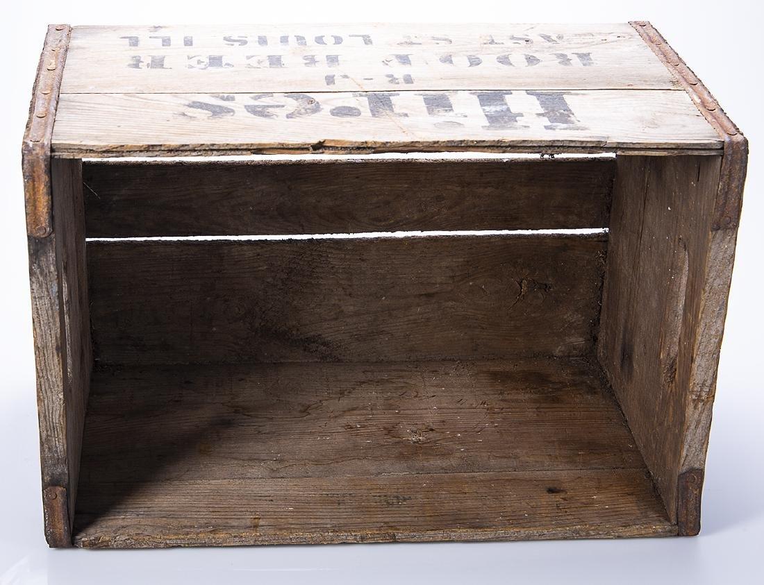 Hires Root Beer Wooden Crate - 2