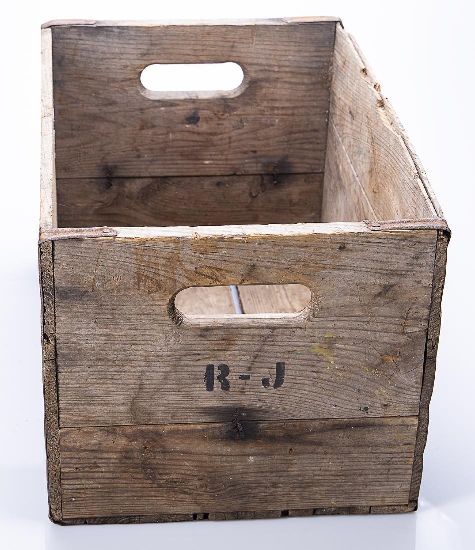 Hires Root Beer Wooden Crate - 4