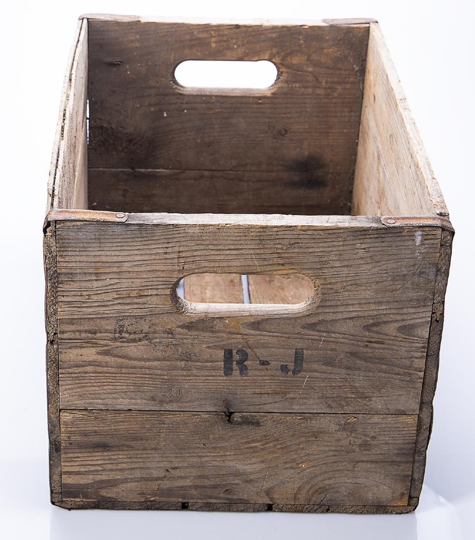Hires Root Beer Wooden Crate - 5
