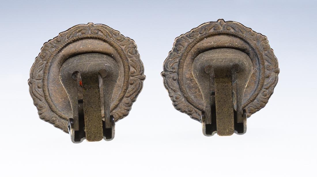 Vintage Cameo Earrings - 2