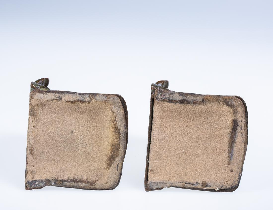 Bronze Cherub Bookends - 4