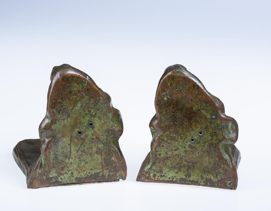 Bronze Cherub Bookends - 5