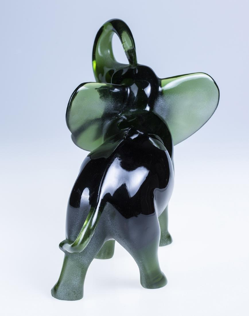 Lucite Elephant by J. Boiros - 3
