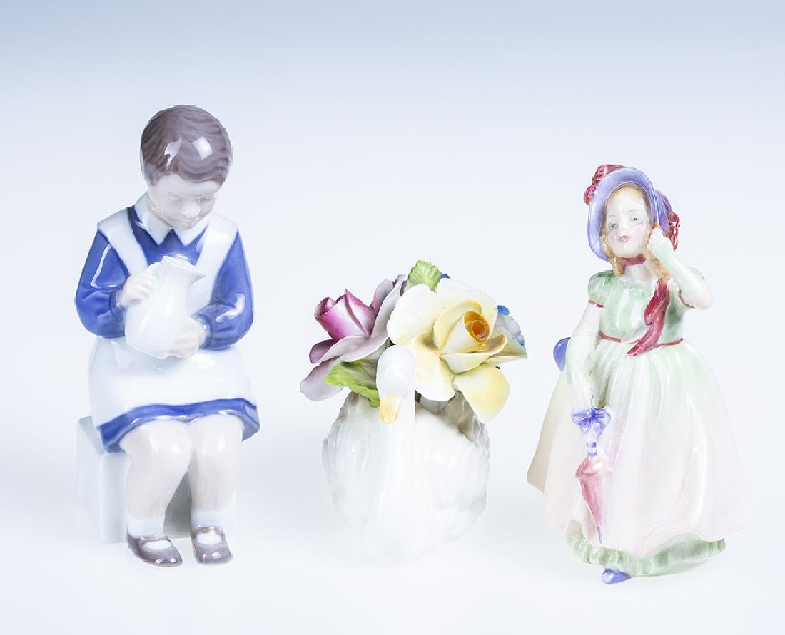Royal Copenhagen Porcelain Figurine  & Royal Doulton