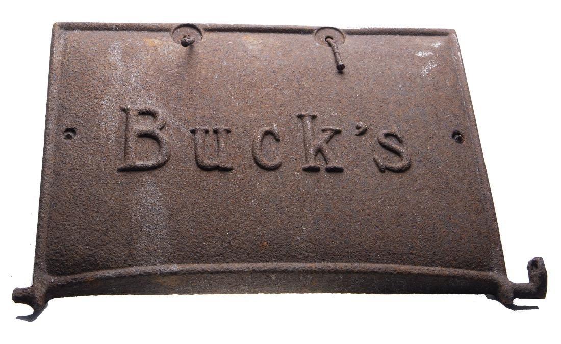 Bucks Cast Iron Stove Door