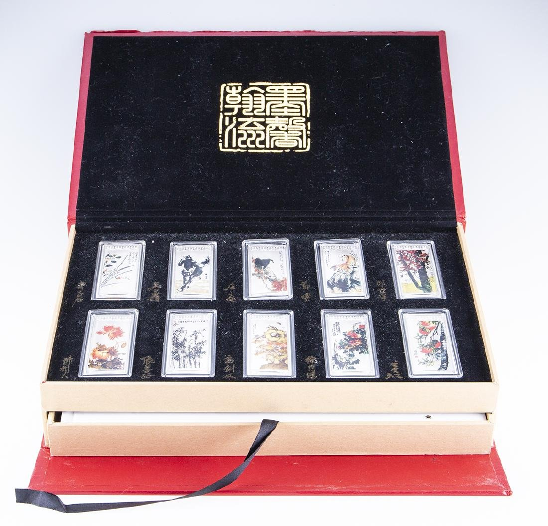 Japanese Immortal Bullion Commemorative Set - 2
