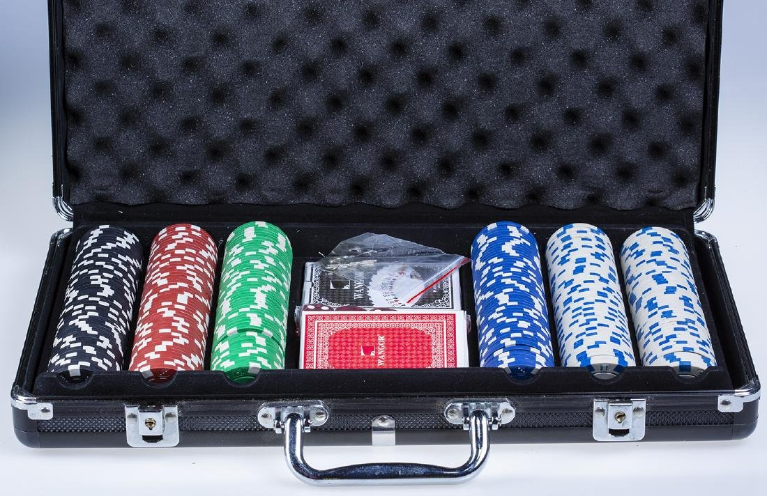 Poker Chip Set in Hard Case