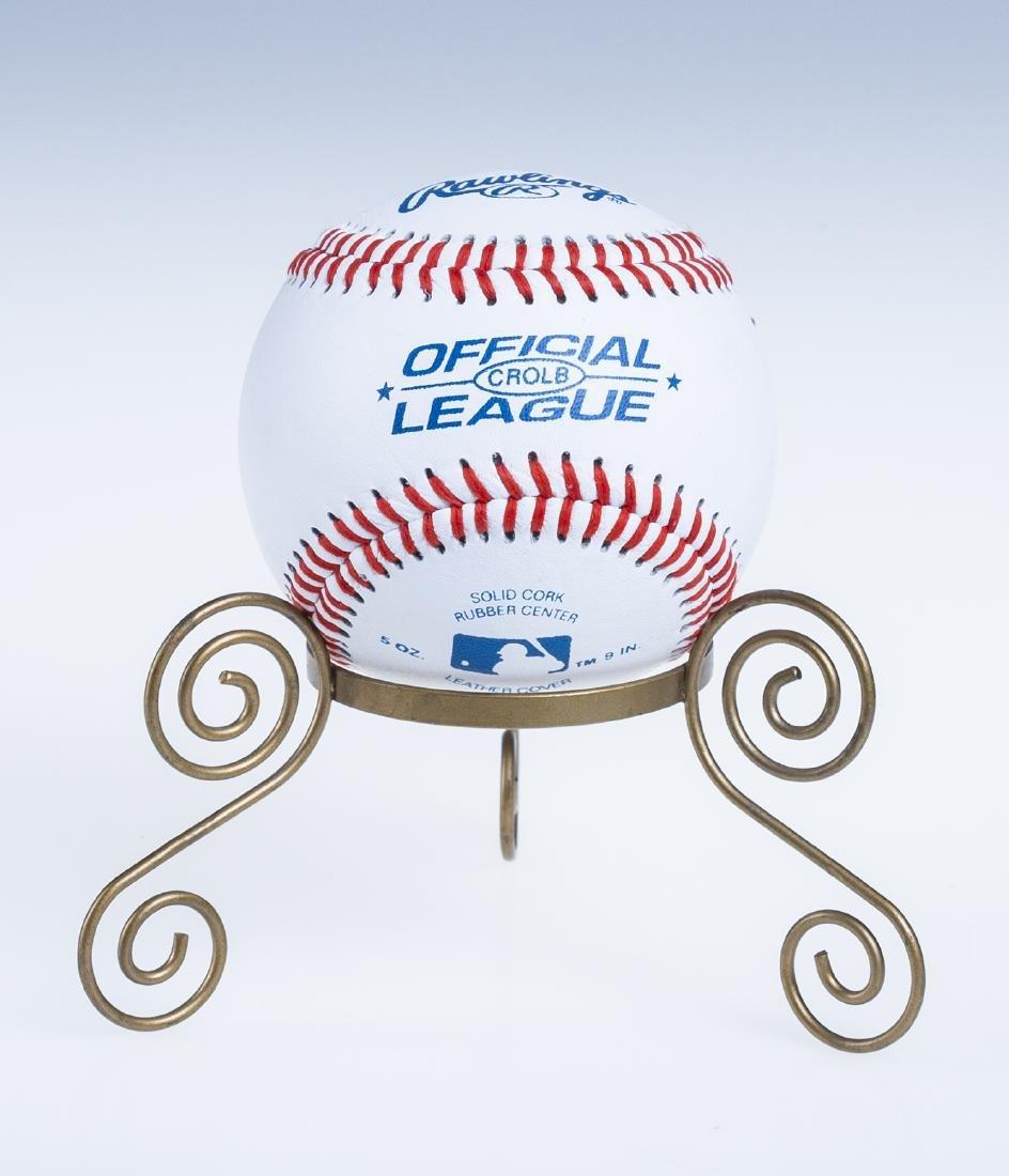 Hank Aaron Autographed Baseball - 2