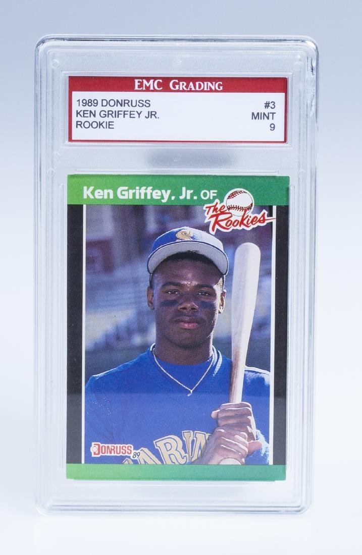 Ken Griffey Jr 1989 Donruss Rookie Baseball Card