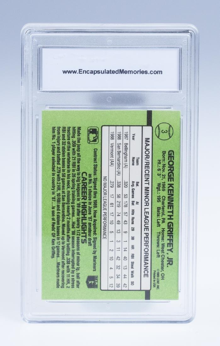 Ken Griffey Jr 1989 Donruss Rookie Baseball Card - 2