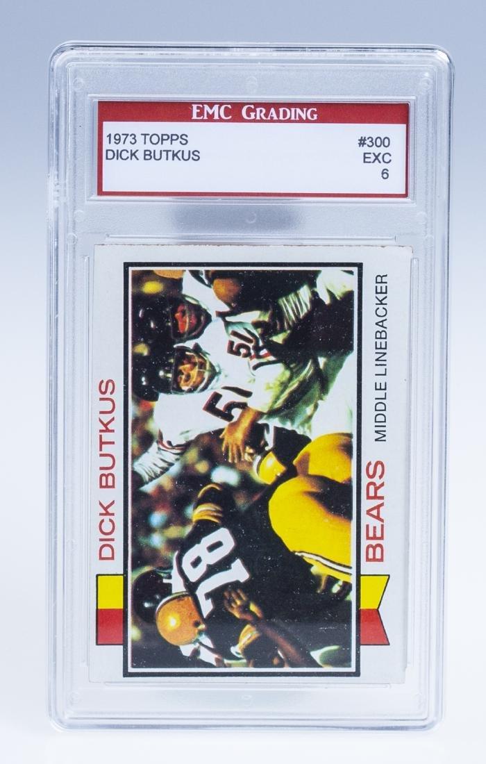 Dick Butkus 1973 Football Card (Graded)