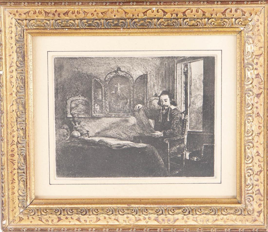Rembrandt Van Rijn (Dutch 1606-1669) Abraham Francen