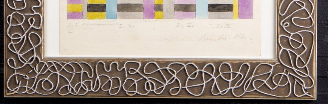 American School, Composition, Pencil and Watercolor - 3