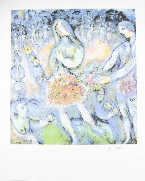 Chagall Lithograph signed and numbered in pencil