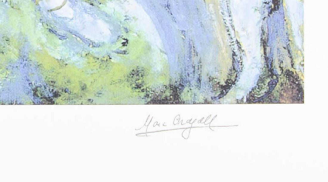 Chagall Lithograph signed and numbered in pencil - 2