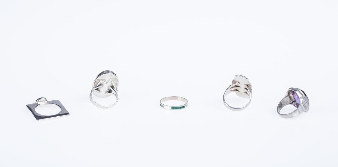 Sterling Silver / Vintage Costume Rings - 2