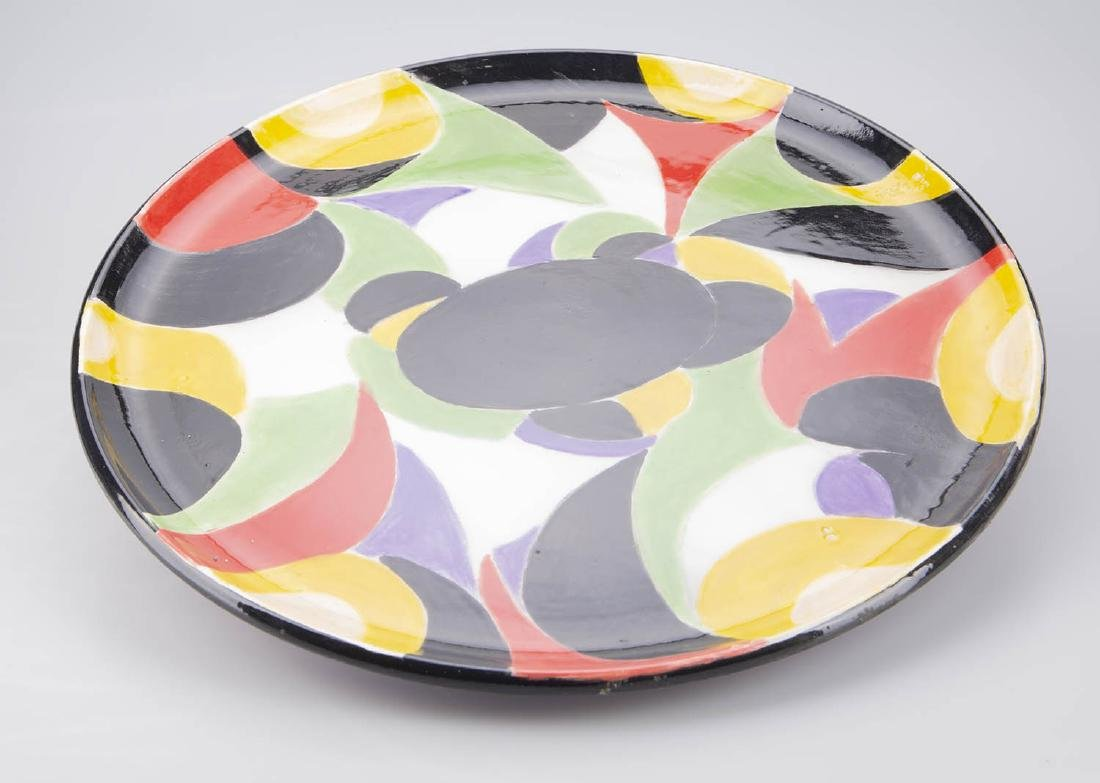 Mid Century modern ceramic plate
