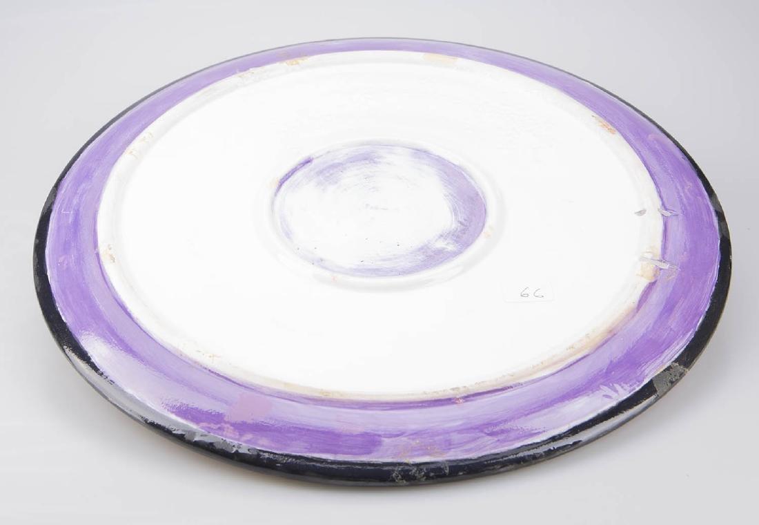 Mid Century modern ceramic plate - 2