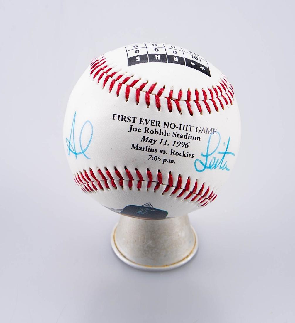 Al Leiter Signed Baseball - 2