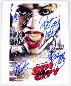 Sin City Signed Cast 8x10 Photo With COA