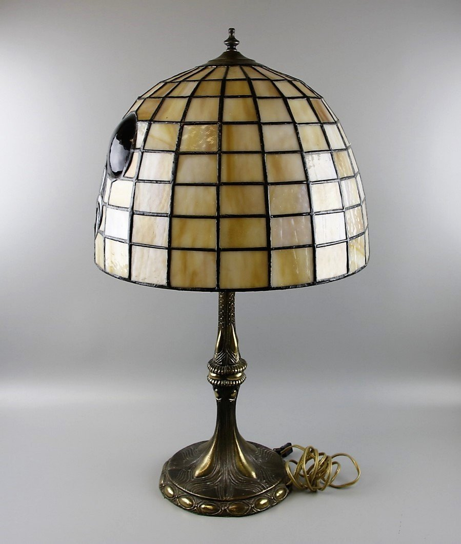 Tiffany Style Mickey Mouse Table Lamp - 2