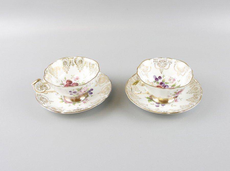 Paragon Fine China Tea Cups & Saucers - 2