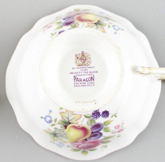 Paragon Fine China Tea Cups & Saucers - 4