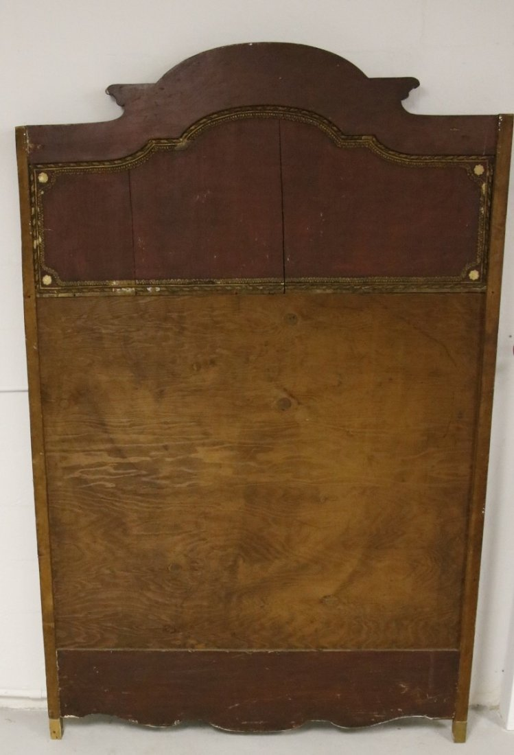 Mirrored Painted Back Board (18th / 19th Century) - 9