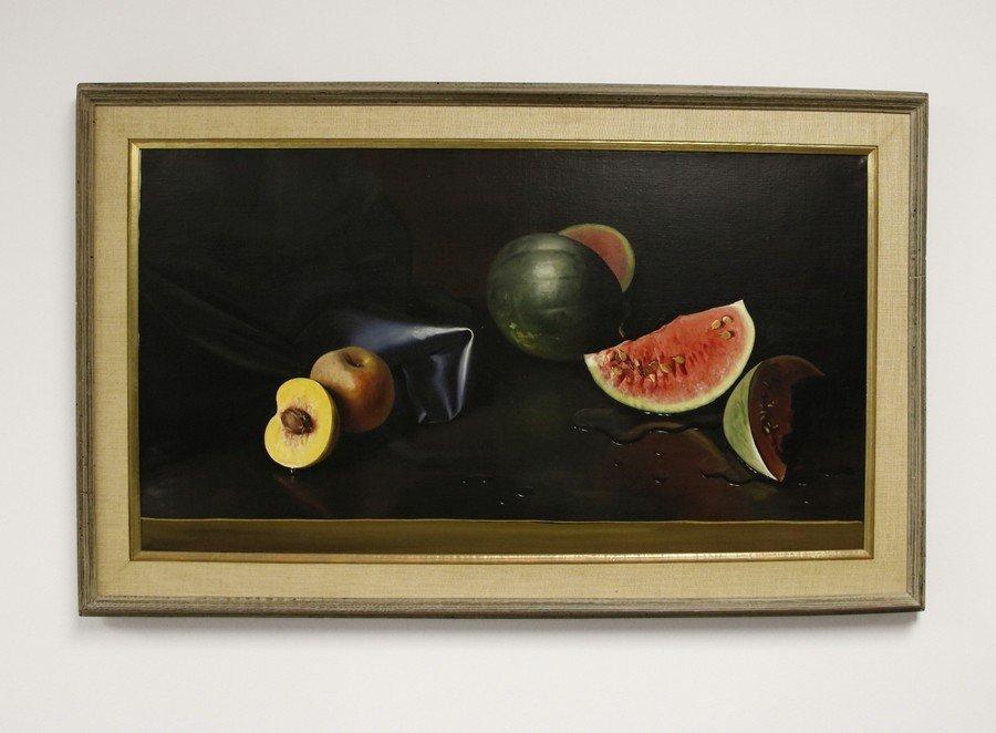 Fortunato Pin  Oil on Canvas