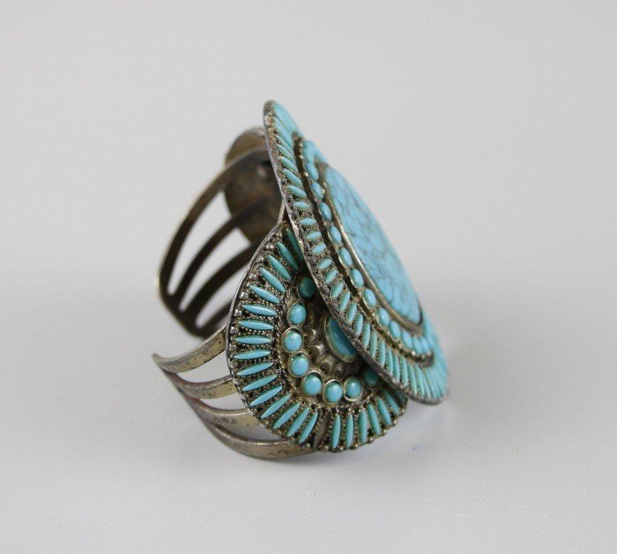 Turquoise Cuff Bracelet - 2