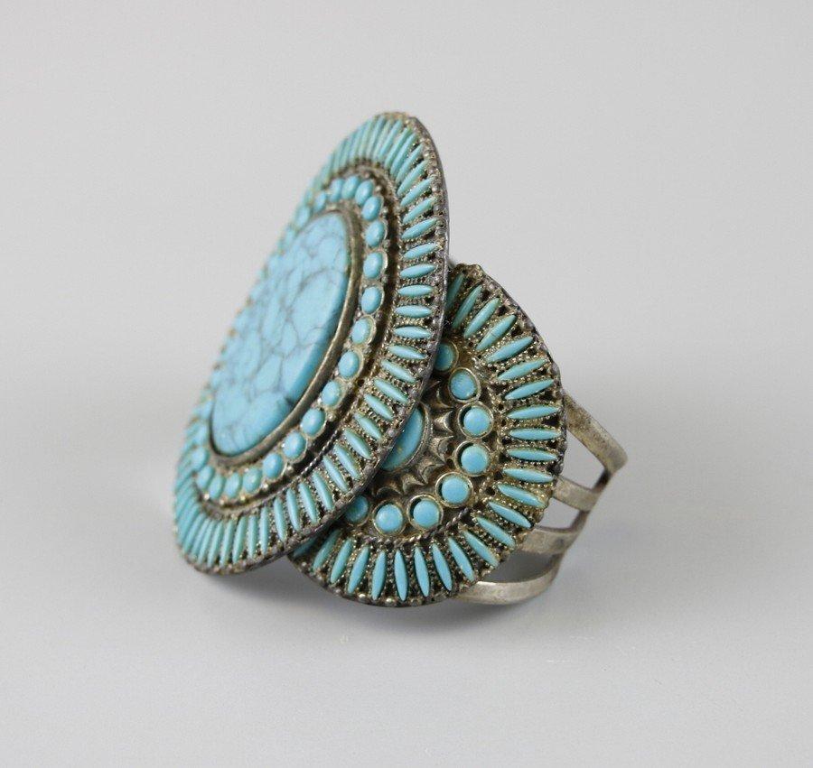 Turquoise Cuff Bracelet - 3
