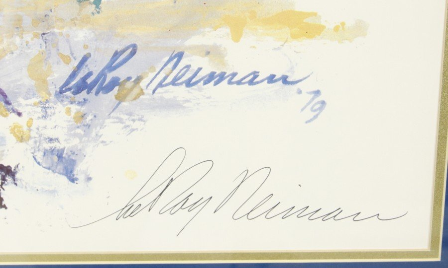 Leroy Neiman Horse's (Signed) - 2