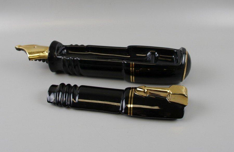 Parker Pen Black & Gold Pen Display Holder - 2