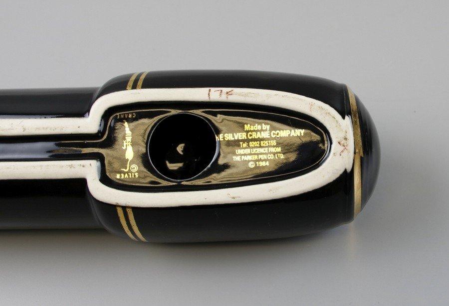 Parker Pen Black & Gold Pen Display Holder - 6