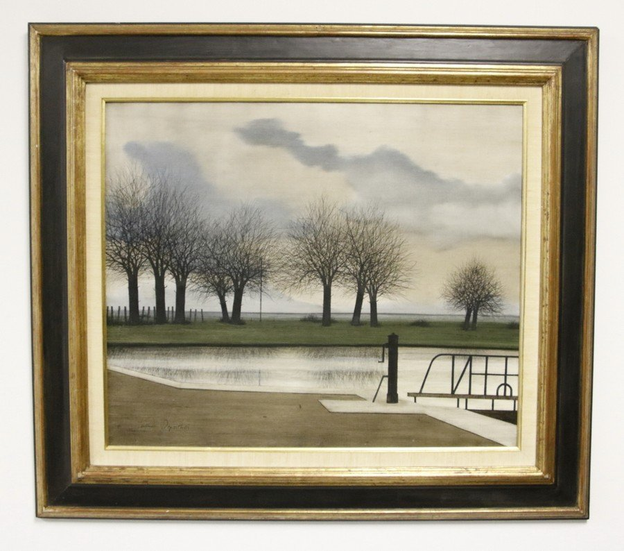 Jacques Deperthes Oil on Canvas (Signed)