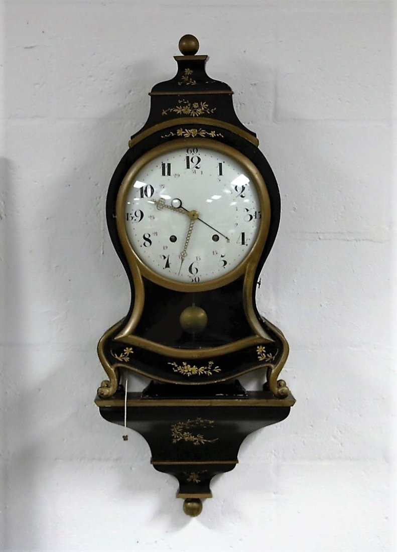 Swiss Neuchatel Shelf Clock