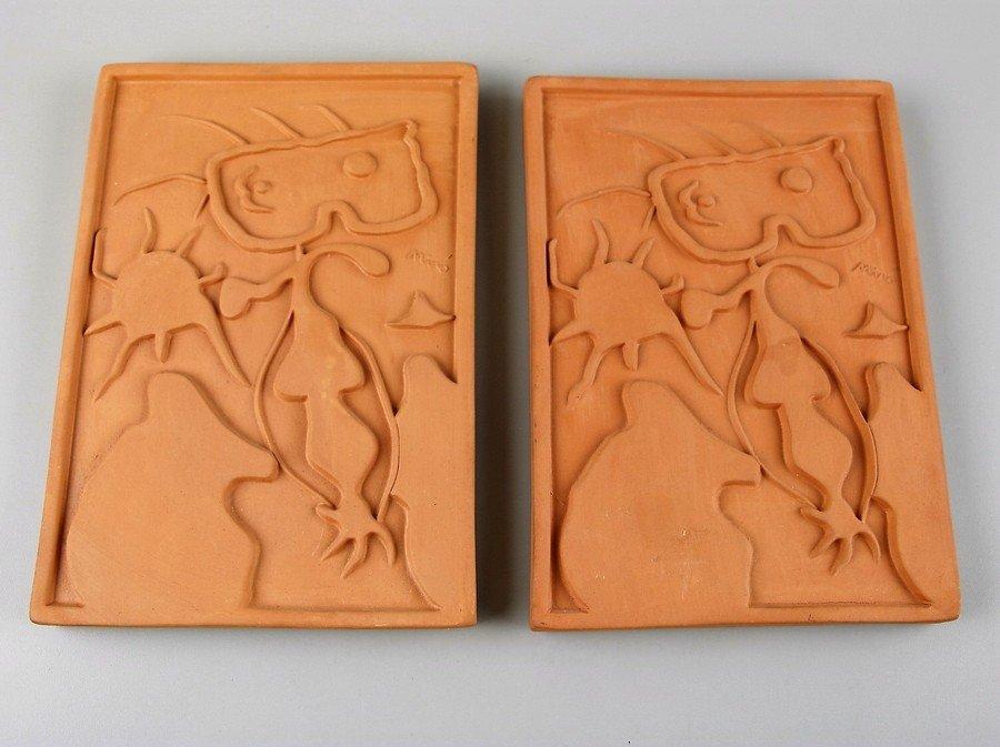Joan Miro - Joan  Ceramic Plaques